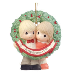 2016 Dated Our First Christmas Ornament  - Country N More Gifts