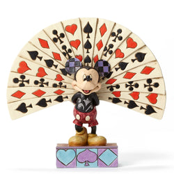 All Decked Out - Disney Mickey Mouse With Cards  - Country N More Gifts