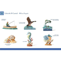 Coastal and Lakeside Prepack - Set of 6  - Country N More Gifts