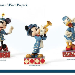 Disney Americana Mickey Mouse Prepack - Set of 3  - Country N More Gifts