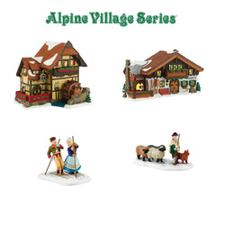 2016 Alpine Village - All New Buildings and Accessories  - Country N More Gifts