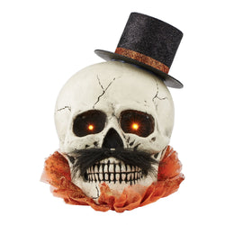 Dandy Lit Skull  - Country N More Gifts