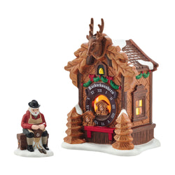 Christmas Market, Black Forest Cuckoo Clocks - Set of 2  - Country N More Gifts