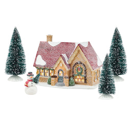 Tangletown Cottage Set of  5  - Country N More Gifts