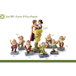 2016 Disney Snow White Prepack - Set of 8  - Country N More Gifts