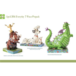 May 2016 Disney Everyday Prepack - Set of 7  - Country N More Gifts