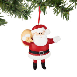 Rudolph Santa Ornament  - Country N More Gifts