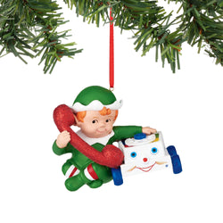 Chatter Phone Elf Ornament  - Country N More Gifts