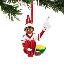 Elf #1 Fan Ornament - Boy  - Country N More Gifts