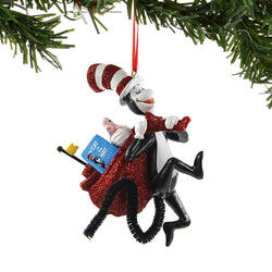 Cat With The Bag Ornament  - Country N More Gifts