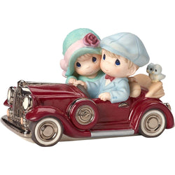 Our Love Is Timeless - Limited Edition - Couple In Antique Car  - Country N More Gifts