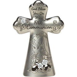 First Communion Mini Tabletop Cross Girl  - Country N More Gifts