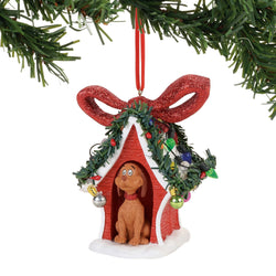 Grinch Happy Howl-i-days Ornament - Dr Seuss  - Country N More Gifts