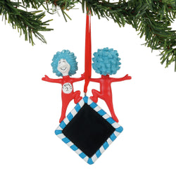 Thing 1 & 2 Personalizable Ornament - Cat In The Hat  - Country N More Gifts