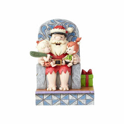 Stone Age Santa - Santa Fred with Pebbles & Bam Bam - Flintstones  - Country N More Gifts