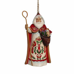Austrian Santa Ornament  - Country N More Gifts