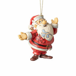 Santa Ornament - Frosty The Snowman  - Country N More Gifts