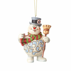 Frosty with Broom Ornament - Frosty The Snowman  - Country N More Gifts