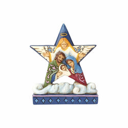 Mini Nativity Star on Cloud  - Country N More Gifts