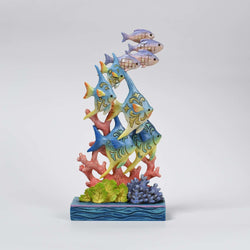 Sea Life's Beauty - Ocean Wonderland Fish by Coral  - Country N More Gifts