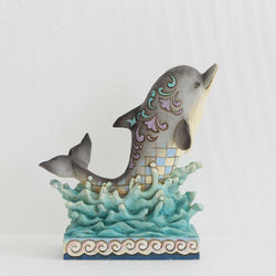 Make Waves - Ocean Wonderland Dolphin  - Country N More Gifts