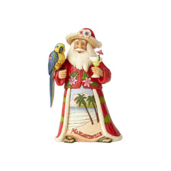Merry in Margaritaville - Santa With Parrot  - Country N More Gifts