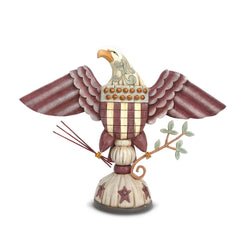 Patriotic Eagle with Arrows Branch  - Country N More Gifts