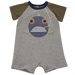Open Mouth Fish Raglan Shortall  - Country N More Gifts