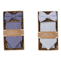Daddy & Me Tie & Bow Tie Set  - Country N More Gifts