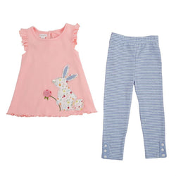 Bunny Tunic and Leggings Set  - Country N More Gifts