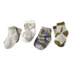 Camo Baby Boys Sock Set 0-12 Months  - Country N More Gifts
