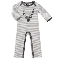 Camo Stag Boys One-Piece | Infant - 12 Months  - Country N More Gifts