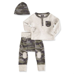Camo Take Me Home | Boys 3 Piece Set | Infant - 6 Months  - Country N More Gifts