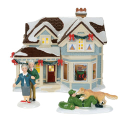 2017 Snow Village Home For Holidays Gift Set  - Country N More Gifts