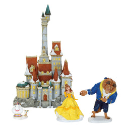 Beauty & The Beast Set of 4 Holiday Gift  - Country N More Gifts