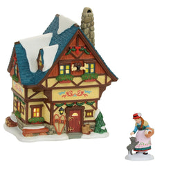 Bavarian Cottage AND Friendly Welcome Home Set  - Country N More Gifts