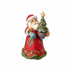 2017 - 15th Christmas Together - 15th Anniversary Santa with Tree Ornament  - Country N More Gifts