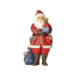 As You Wish - Santa Holding Presents  - Country N More Gifts