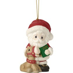 2017 Annual Santa Ornament - All Things Are Possible If You Believe, Ninth in Series  - Country N More Gifts