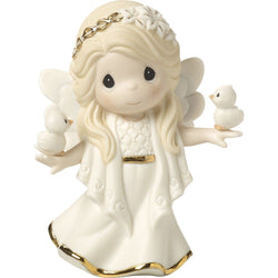 2017 Annual Angel Figurine - In His Perfect Peace And Love - Seventh in Series  - Country N More Gifts