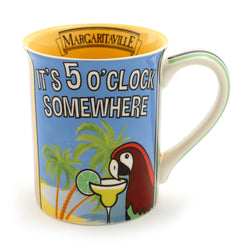 5 O 'Clock Somewhere Mug - Margaritaville  - Country N More Gifts
