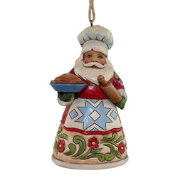Culinary Santa Ornament  - Country N More Gifts