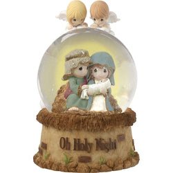 Oh Holy Night - Musical Nativity Snow Globe Waterball  - Country N More Gifts