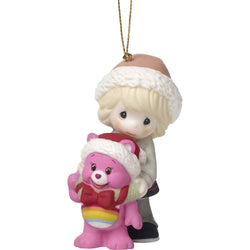 Care Bears 'Surrounded By Christmas Cheer' Care Bear Girl With Cheer Bear Ornament  - Country N More Gifts