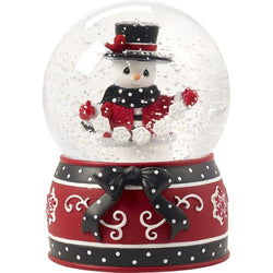 2017 Annual Snowman Musical Snow Globe - May All Your Christmases Be White - Eighth in Series  - Country N More Gifts