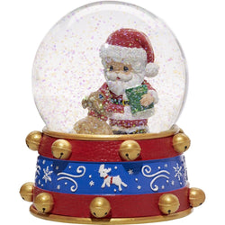 2017 Annual Santa Musical Snow Globe - All Things Are Possible If You Believe - Ninth in Series  - Country N More Gifts