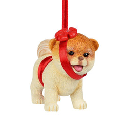 Boo In Bow Ornament  - Country N More Gifts