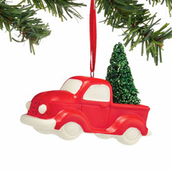 Red Truck Ornament  - Country N More Gifts