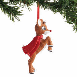 Rudolph Personalizable Ornament  - Country N More Gifts