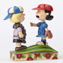 Baseball Schroeder and Lucy  - Country N More Gifts
